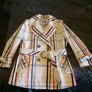 Authentic Coach 3/4 sleeve trench coat